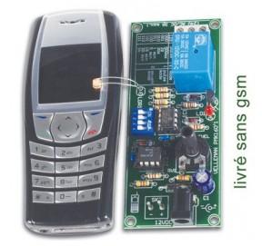 Kit commande à distance GSM MK160