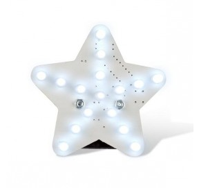 Etoile lumineuse blanche MK199W