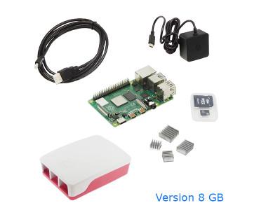 Kit Raspberry Pi 4 B KIT-PI4-8GB