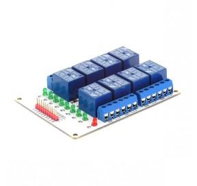 Module 8 relais 12 Vcc EF03010-12
