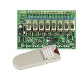 Emetteur/récepteur HF 8 canaux VM118