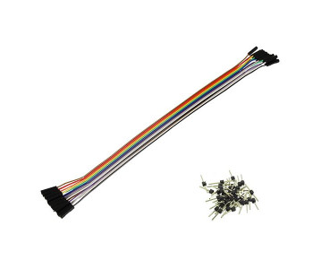 Pack de 13 câbles de connexion F/F BBJ22