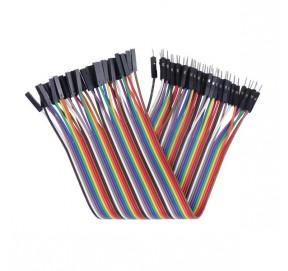 Nappe de 40 câbles 20 cm de connexion M/F BBJ11