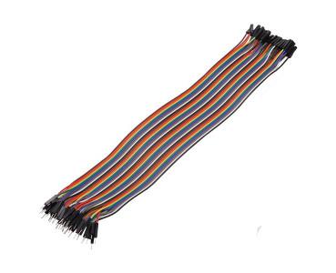 Nappe de 40 câbles 30 cm M/F BBJ17