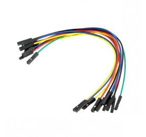 Pack de 10 câbles de connexion F/F BBJ15