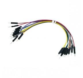 Pack de 10 câbles de connexion M/M BBJ8