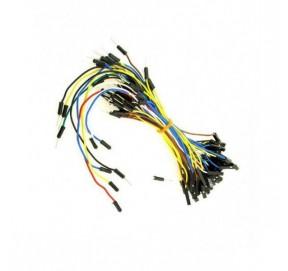 Pack de 65 câbles de connexion mâle-femelle
