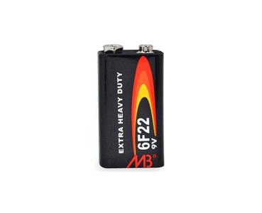 Pile au zinc 9V 6F22S