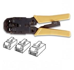 Pince semi-pro pour RJ9, RJ11, RJ12 et RJ45