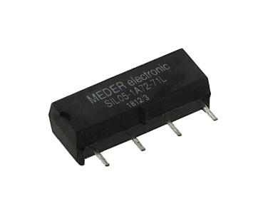 Relais reed 5 Vcc SIL05-1A72-71L