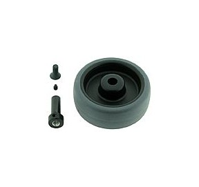 Roue Qfix 50x21mm perçage 3mm