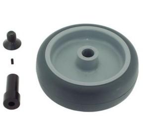Roue Qfix 100x32mm perçage 6 mm