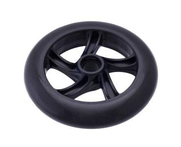 Roue noire 144x29 mm