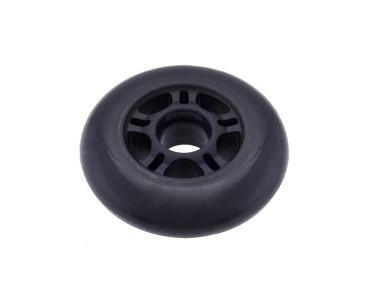 Roue Scooter noire 84 x 24 mm 3275