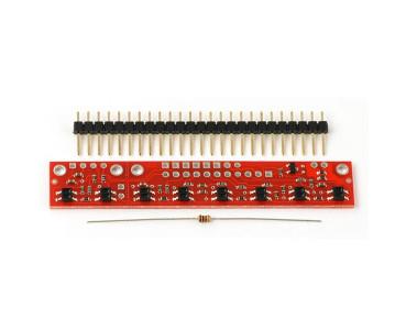 Suiveur de ligne analogique à 8 capteurs 961