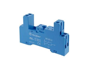 Support pour relais 1RT pour rail DIN