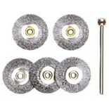 5 brosses rondes 28952