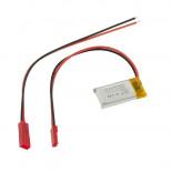 Accu LiPo 3,7 Vcc 250 mAh L601730
