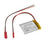 Accu LiPo 3,7 Vcc 550 mAh L503040