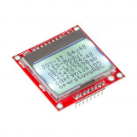 Afficheur graphique SBC-LCD84x48