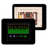 Afficheur LCD 71 mm gen4-uLCD-28D-CLB-PI