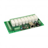 Carte Ethernet à 8 relais dS378