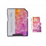 Carte micro SD classe U3 64 GB