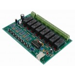 Carte relais USB � 8 canaux VM8090