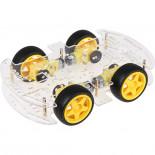 Châssis acrylique 4WD