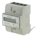 Compteur électrique triphasé KE8004