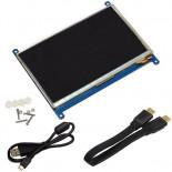 Ecran tactile capacitif 7'' LCD7