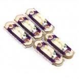 Jeu de 5 leds blanches Micro LilyPad