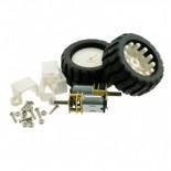 Kit moteurs + encodeurs + roues KIT0015