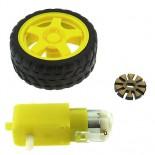 Kit roue + moteur
