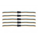 Lot de 5 connecteurs pour flexibles RGB