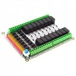 Module 16 relais +12 Vcc EF03013-12