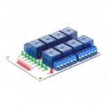 Module 8 relais 12 Vcc EF03009-12