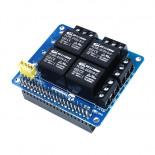 Module HAT 4 relais PiRelay