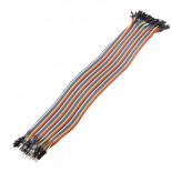 Nappe de 40 câbles 30 cm M/M BBJ16