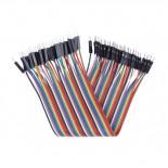 Nappe de 40 câbles de 20 cm M/M BBJ10