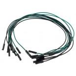 Pack de 10 câbles de connexion F/F BBJ5
