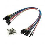 Pack de 20 câbles de connexion universels BBJ19