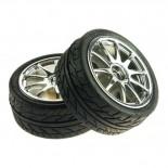 Paire de roues chromées TAM6427A
