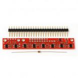 Suiveur de ligne analogique à 8 capteurs 960