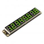 Afficheur 8 digits verts Gravity DFR0646-G
