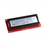Afficheur SerLCD 2x16C LCD-16396