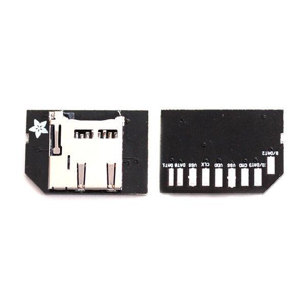 adafruit adaptateur micro sd pour carte raspberry. Black Bedroom Furniture Sets. Home Design Ideas