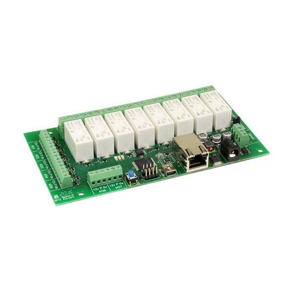 Carte Ethernet A 8 Relais Ds378 Devantech Modules Ethernet A Relais Go Tronic