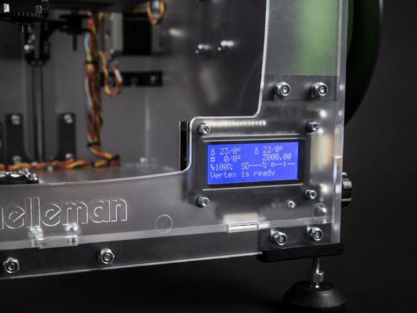 velleman imprimante 3d en kit vertex k8400. Black Bedroom Furniture Sets. Home Design Ideas