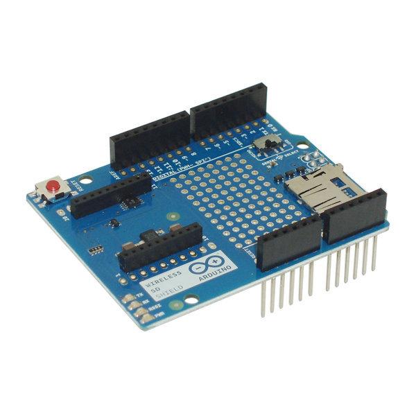 Arduino module wireless shield sd a